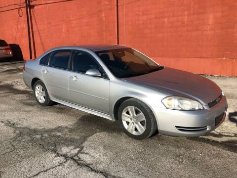2010 Chevrolet Impala for sale at ELIZABETH AUTO SALES in Elizabeth PA