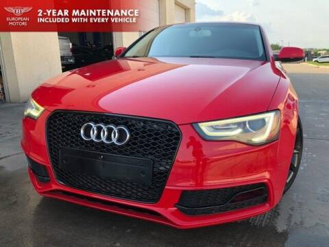 2013 Audi A5 for sale at European Motors Inc in Plano TX