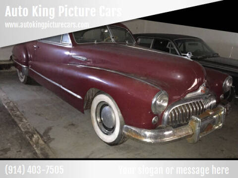1947 Buick Roadmaster for sale at Auto King Picture Cars - Rental in Westchester County NY