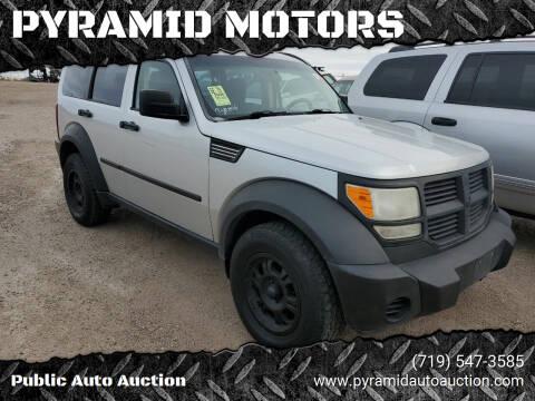 2008 Dodge Nitro for sale at PYRAMID MOTORS - Pueblo Lot in Pueblo CO