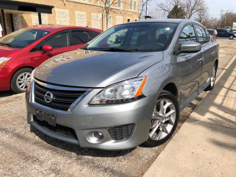 2013 Nissan Sentra for sale at Jeff Auto Sales INC in Chicago IL
