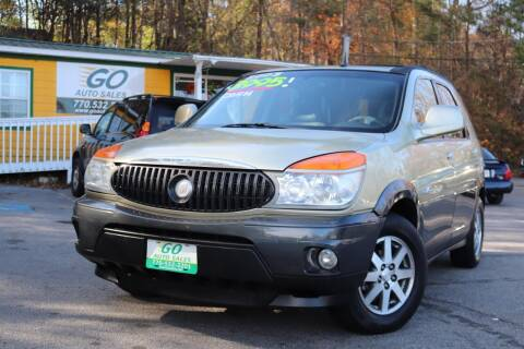 2003 Buick Rendezvous for sale at Go Auto Sales in Gainesville GA