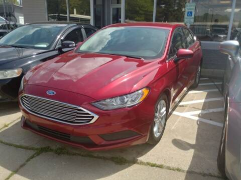 2018 Ford Fusion for sale at A & K Auto Sales in Mauldin SC