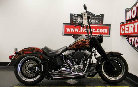 2012 Harley-Davidson FAT BOY LO 103 for sale at Certified Motor Company in Las Vegas NV