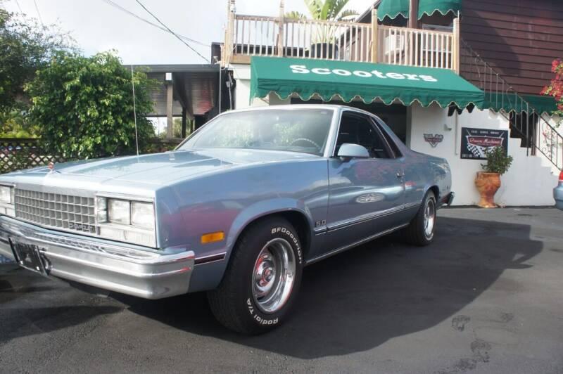 1987 Chevrolet El Camino for sale at Dream Machines USA in Lantana FL