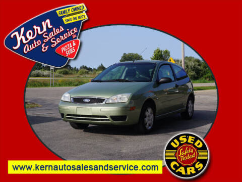 2007 Ford Focus for sale at Kern Auto Sales & Service LLC in Chelsea MI