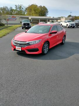 2017 Honda Civic for sale at McCully's Automotive in Benton KY