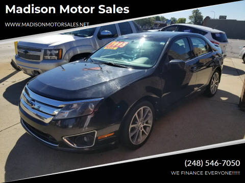 2010 Ford Fusion for sale at Madison Motor Sales in Madison Heights MI
