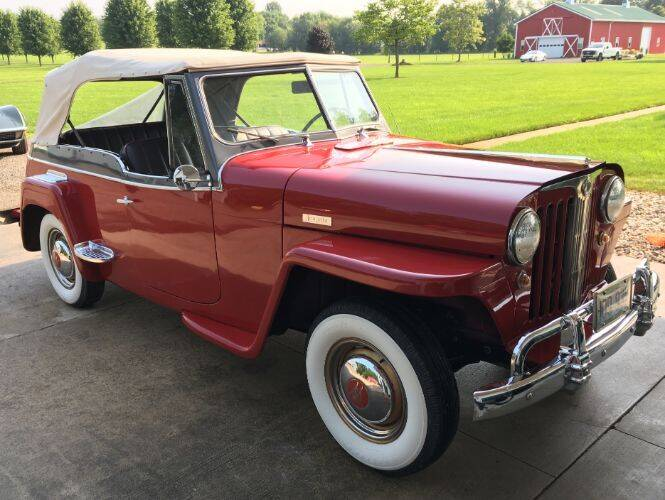 1948 Willys Jeepster for sale in Hobart, IN