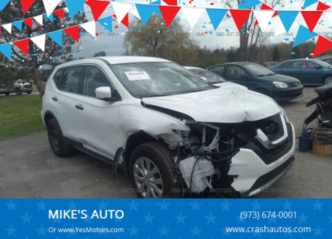 2018 Nissan Rogue for sale at MIKE'S AUTO in Orange NJ