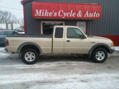 2001 Ford Ranger for sale at MIKE'S CYCLE & AUTO in Connersville IN