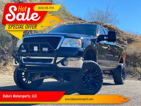 2008 Ford F-150 for sale at Baba's Motorsports, LLC in Phoenix AZ