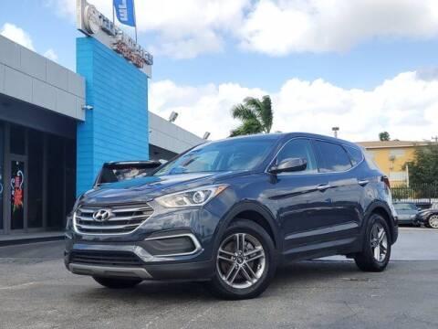 2018 Hyundai Santa Fe Sport for sale at Tech Auto Sales in Hialeah FL