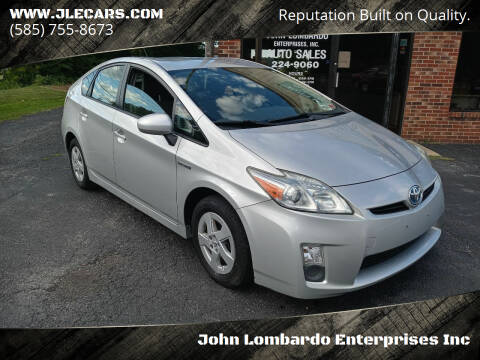 2010 Toyota Prius for sale at John Lombardo Enterprises Inc in Rochester NY