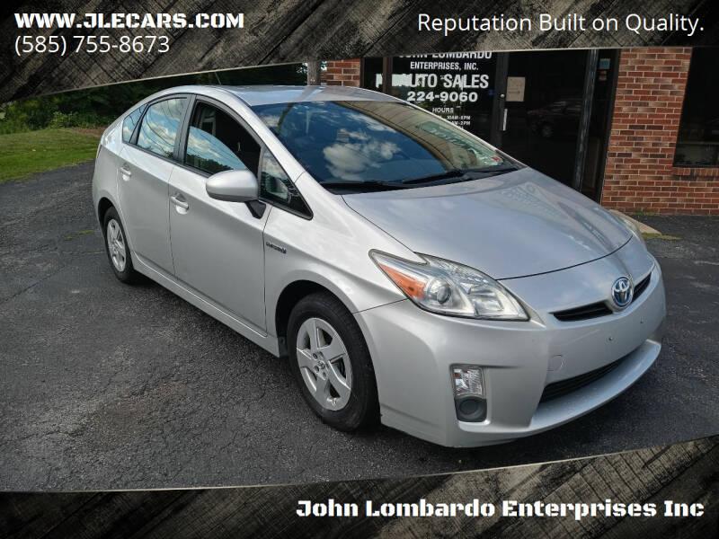 2010 Toyota Prius for sale at John Lombardo Enterprises Inc in Rochester NY