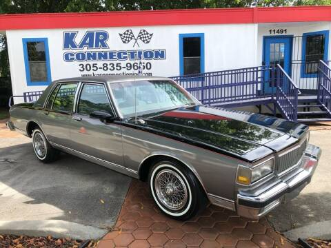 1989 Chevrolet Caprice for sale at Kar Connection in Miami FL