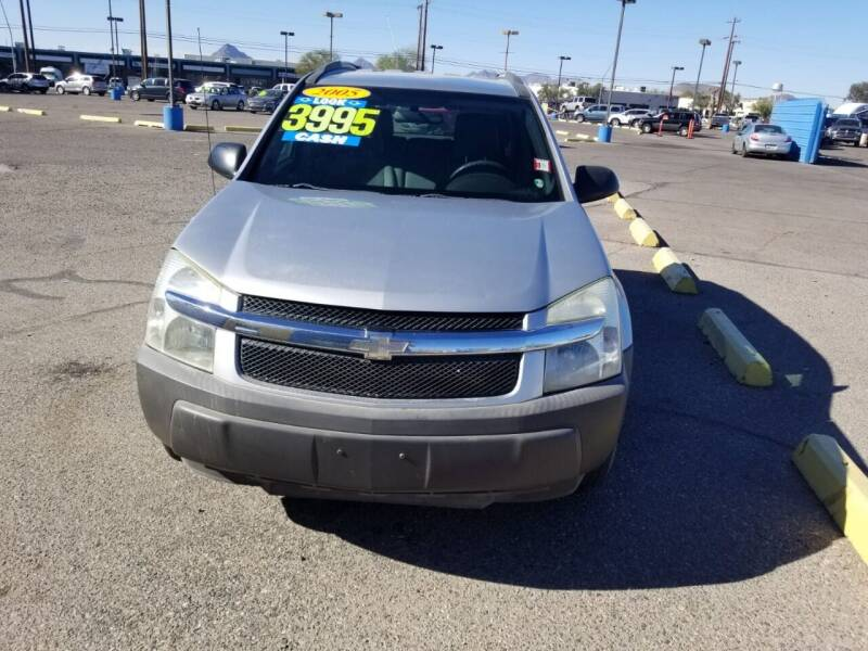 2005 Chevrolet Equinox for sale at CAMEL MOTORS in Tucson AZ