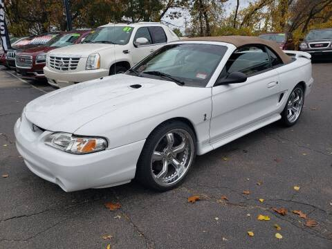 1997 Ford Mustang SVT Cobra for sale at Real Deal Auto Sales in Manchester NH