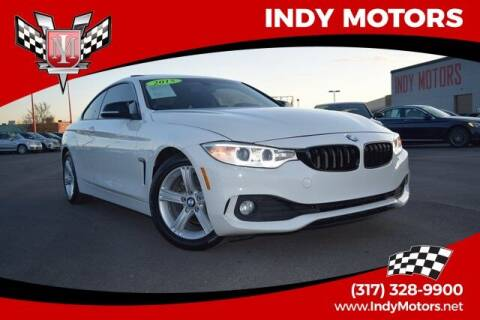 2015 BMW 4 Series for sale at Indy Motors Inc in Indianapolis IN