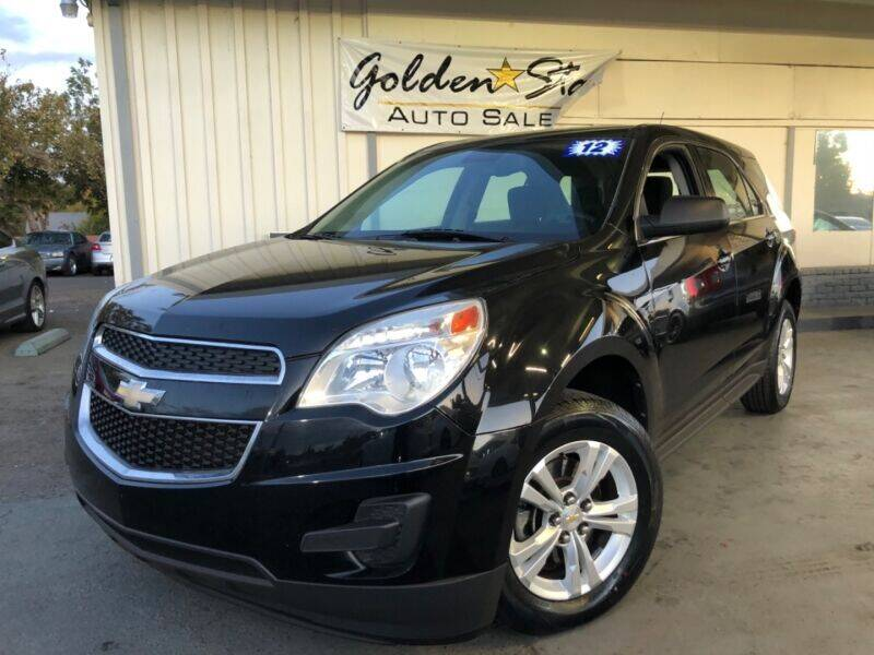 2012 Chevrolet Equinox for sale at Golden Star Auto Sales in Sacramento CA