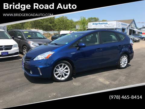 2014 Toyota Prius v for sale at Bridge Road Auto in Salisbury MA