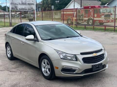 2015 Chevrolet Cruze for sale at David Morgin Credit in Houston TX