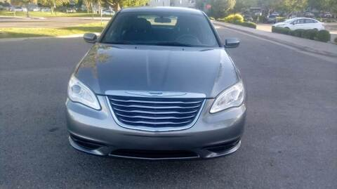 2012 Chrysler 200 for sale at QUEST MOTORS in Englewood CO