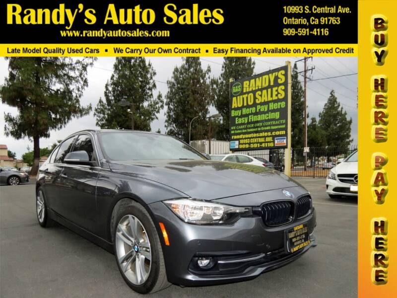 2017 BMW 3 Series for sale at Randy's Auto Sales in Ontario CA