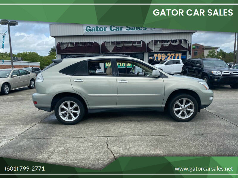 2008 Lexus RX 350 for sale at Gator Car Sales in Picayune MS