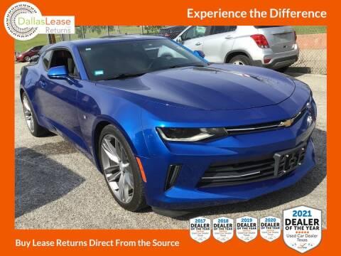 2017 Chevrolet Camaro for sale at Dallas Auto Finance in Dallas TX