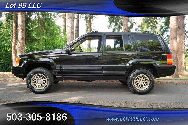 1995 Jeep Grand Cherokee for sale at LOT 99 LLC in Milwaukie OR