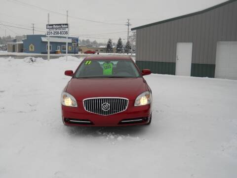 2011 Buick Lucerne for sale at Shaw Motor Sales in Kalkaska MI
