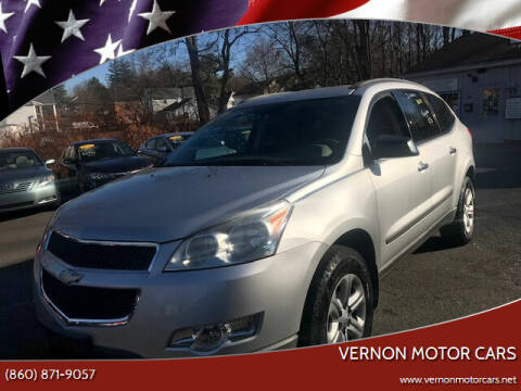 2010 Chevrolet Traverse for sale at VERNON MOTOR CARS in Vernon Rockville CT