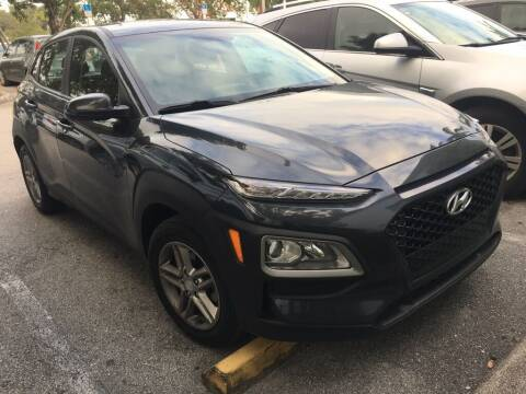 2018 Hyundai Kona for sale at DORAL HYUNDAI in Doral FL
