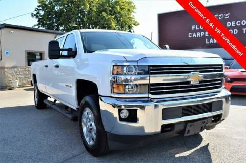 2015 Chevrolet Silverado 3500HD for sale at LAKESIDE MOTORS, INC. in Sachse TX