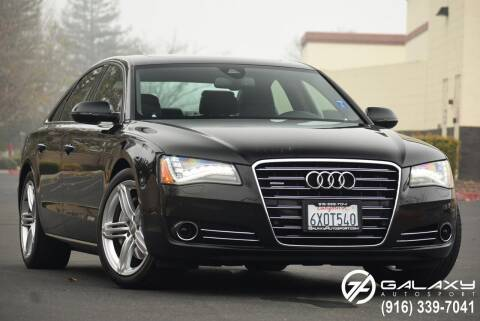 2013 Audi A8 for sale at Galaxy Autosport in Sacramento CA