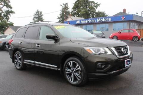 2017 Nissan Pathfinder for sale at All American Motors in Tacoma WA