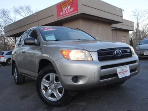 2007 Toyota RAV4 for sale at KC Car Gallery in Kansas City KS