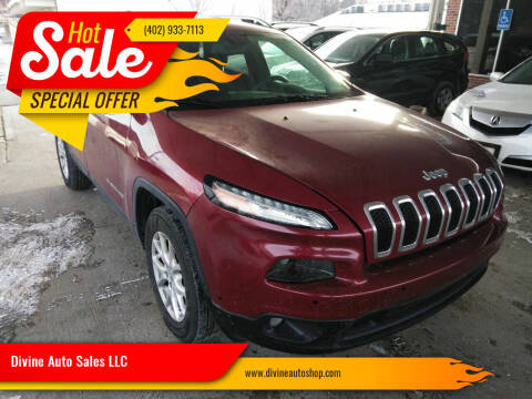 2014 Jeep Cherokee for sale at Divine Auto Sales LLC in Omaha NE