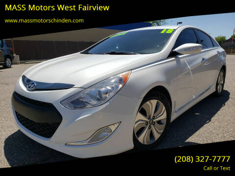2014 Hyundai Sonata Hybrid for sale at MASS Motors West Fairview in Boise ID