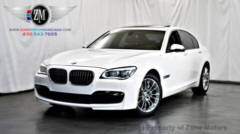 2014 BMW 7 Series for sale at ZONE MOTORS in Addison IL