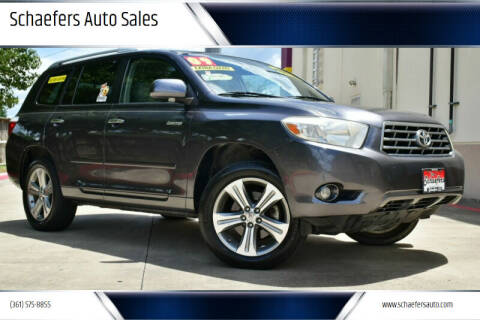 2009 Toyota Highlander for sale at Schaefers Auto Sales in Victoria TX