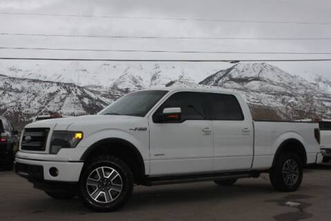 2014 Ford F-150 for sale at REVOLUTIONARY AUTO in Lindon UT