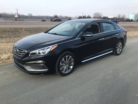 2016 Hyundai Sonata for sale at Whi-Con Auto Brokers in Shakopee MN