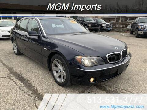 2008 BMW 7 Series for sale at MGM Imports in Cincannati OH