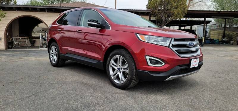 2017 Ford Edge for sale at FRANCIA MOTORS in El Paso TX