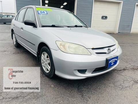 2004 Honda Civic for sale at Transportation Center Of Western New York in Niagara Falls NY