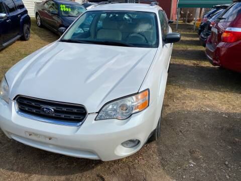 2007 Subaru Outback for sale at Richard C Peck Auto Sales in Wellsville NY