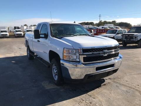 2013 Chevrolet 2500 HD 4X4 EXT CAB SB for sale at CARGO VAN GO.COM in Shakopee MN
