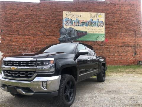 2016 Chevrolet Silverado 1500 for sale at Priority One Auto Sales in Stokesdale NC